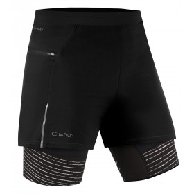Pantaloncini 2-in-1 da Trail Running