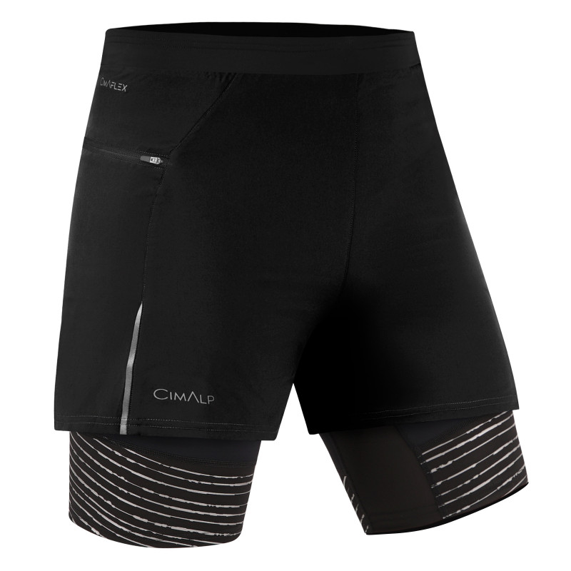 Pantaloncini 2 in 1 da Trail Running 3D FLEX
